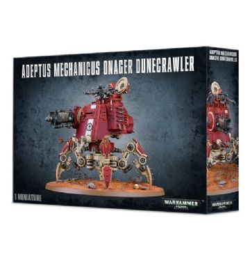 Games Workshop Warhammer 40000 40K Adeptus Mechanicus Onager Dunecrawler 59-13
